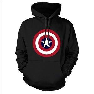 Captain America Unisex Custom Made Hoodie
